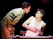Yank!<br />  by <br /> at the Charing Cross Theatre, London<br /> 6th July 2017 <br /> press photocall <br />  <br /> A poignant original, musical and love story based on the true, hidden history of gay soldiers during World War Two. It transfers to London following a UK spring premi&egrave;re at Hope Mill Theatre in Manchester which received extensive critical acclaim.<br /> <br />  Scott Hunter as Stu <br /> <br /> <br /> <br /> Photograph by Elliott Franks <br /> Image licensed to Elliott Franks Photography Services