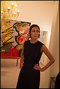 VALERIA NAPOLEONE, Frieze dinner  hosted at by Valeria Napoleone for  Marvin Gaye Chetwynd, Anne Collier and Studio Voltaire 20th anniversary autumn programme. Kensington. London. 14 October 2014.