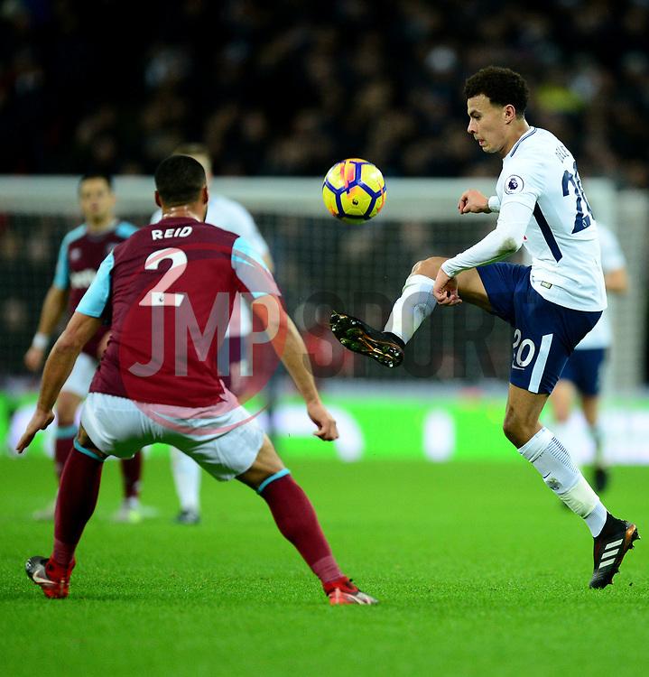 Dele Alli of Tottenham Hotspur - Mandatory by-line: Alex James/JMP - 04/01/2018 - FOOTBALL - Wembley Stadium - London, England - Tottenham Hotspur v West Ham United - Premier League