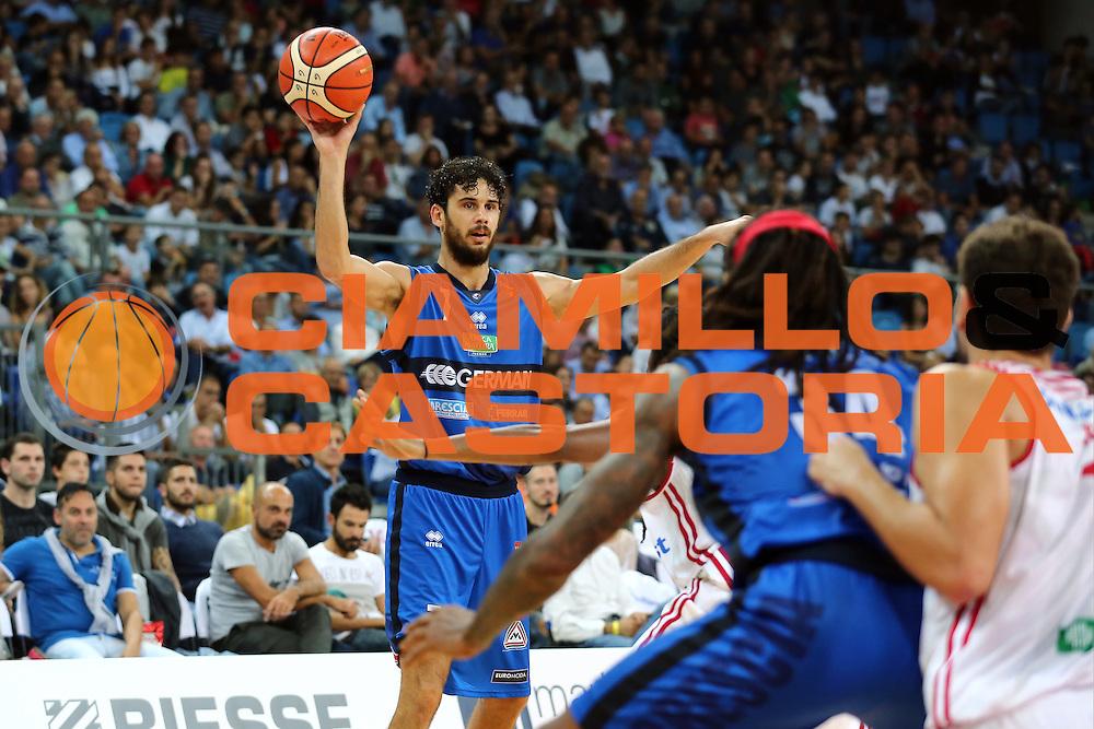 Vitali Luca<br /> Consultinvest VL Pesaro - Germani Basket Brescia<br /> Lega BasketSerie A 2016/2017<br /> Pesaro 02/10/2016