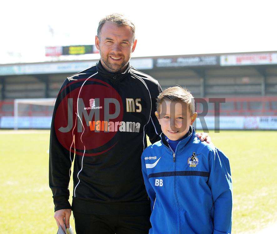 - Photo mandatory by-line: Neil Brookman/JMP - Mobile: 07966 386802 - 06/04/2015 - SPORT - Football - Kidderminster - Aggborough - Kidderminster v Bristol Rovers - Vanarama Football Conference