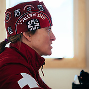 Portrait of Jen Calder Assistant Director of ski patrol for Jackson Hole Mountai Resort.