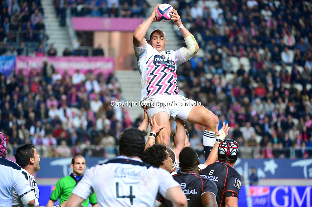 Sergio PARISSE - 24.04.2015 - Stade Francais / Stade Toulousain - 23eme journee de Top 14<br />