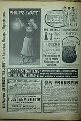 Repro magazine Het Leven, 1915, Netherlands, commercials