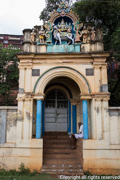 Chettinad houses, Kariakudi, Tamil Nadu, India