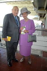 The DUKE & DUCHESS OF RICHMOND & GORDON at the 4th day of the Glorious Goodwood racing festival 2007 held at Goodwood Racecourse, West Sussex on 3rd August 2007.<br />