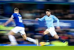 Bernardo Silva of Manchester City takes on Lucas Digne of Everton - Mandatory by-line: Robbie Stephenson/JMP - 06/02/2019 - FOOTBALL - Goodison Park - Liverpool, England - Everton v Manchester City - Premier League