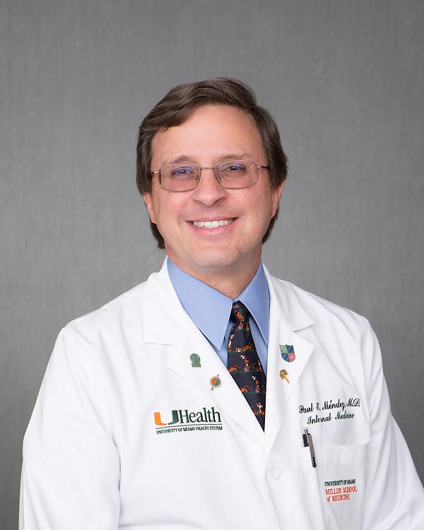 Paul Mendez head shot - November 2014.  Photo by Gregg Pachkowski - Biomedical Communications.