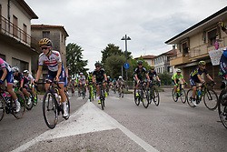Lizzie Deignan (GBR) of Boels-Dolmans Cycling Team acelerates after a small slowdown during Stage 3 of the Giro Rosa - a 100 km road race, between San Fior and San Vendemiano on July 2, 2017, in Treviso, Italy. (Photo by Balint Hamvas/Velofocus.com)