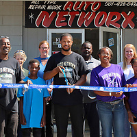 A chamber of commerce ribbon cutting was held for Auto Networx, located at 310 E. Commerce St. in Aberdeen.