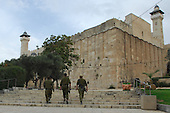 Israel News - Cave of the Patriarchs - West Bank city of Hebron