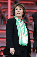 London - Sunday, May 3rd, 2009: Norwich City owner Delia Smith after the Coca Cola Championship match at The Valley, London. (Pic by Mark Chapman/Focus Images)
