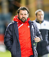 Dundee manager Paul Hartley  - Dundee v Partick Thistle in the Ladbrokes Scottish Premiership at Dens Park, Dundee.Photo: David Young<br /> <br />  - &copy; David Young - www.davidyoungphoto.co.uk - email: davidyoungphoto@gmail.com