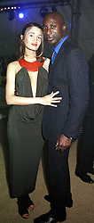 MR & MRS OZWALD BOATENG, he is the top fashion<br />  designer at a party in London on 3rd June 2000.OEZ 268<br /> © Desmond O'Neill Features:- 020 8971 9600<br />    10 Victoria Mews, London.  SW18 3PY <br /> www.donfeatures.com   photos@donfeatures.com<br /> MINIMUM REPRODUCTION FEE AS AGREED.<br /> PHOTOGRAPH BY DOMINIC O'NEILL