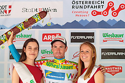 03.07.2017, Wien, AUT, Ö-Tour, Österreich Radrundfahrt 2017, 1. Etappe von Graz nach Wien (193,9 km), im Bild Stephan Rabitsch (AUT, Team Felbermayr Simplon Wels) // during the 1st stage from Graz to Vienna (193,9 km) of 2017 Tour of Austria. Wien, Austria on 2017/07/03. EXPA Pictures © 2017, PhotoCredit: EXPA/ JFK