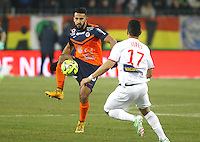 Abdelhamid EL KAOUTARI - 07.02.2015 - Montpellier / Lille - 24eme journee de Ligue 1<br /> Photo : Andre Delon / Icon Sport