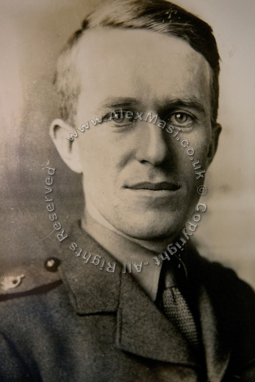 "A portrait of T. E. Lawrence (""Lawrence of Arabia"") on display in Clouds Hill, his former home near Wool, Dorset, southwest England."