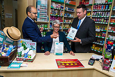 Miles Briggs launches Conservatives plan for pharmacies, Edinburgh, 27 July 2018