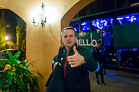 BENAHAVIS - 02-01-2017, Trainingskamp, AZ, AZ trainer John van den Brom.