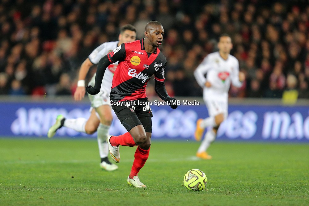 Younousse SANKHARE  - 24.01.2015 - Guingamp / Lorient - 22eme journee de Ligue1<br />