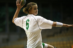 Ana Gros of Olimpija at  handball game between women team RK Olimpija vs ZRK Brezice at 1st round of National Championship, on September 13, 2008, in Arena Tivoli, Ljubljana, Slovenija. Olimpija won 41:17. (Photo by Vid Ponikvar / Sportal Images)
