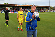 Mascot during the EFL Sky Bet League 1 match between AFC Wimbledon and Wycombe Wanderers at the Cherry Red Records Stadium, Kingston, England on 31 August 2019.