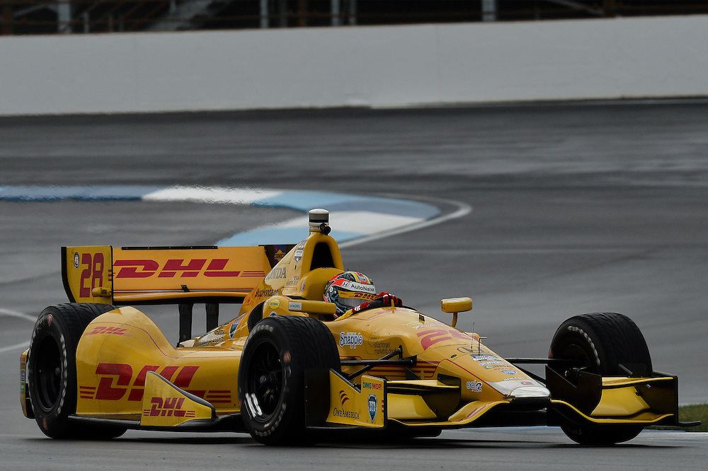 Ryan Hunter-Reay, Grand Prix of Indianapolis, Indianapolis Motor Speedway, Indianapolis, IN USA 5/10/2014