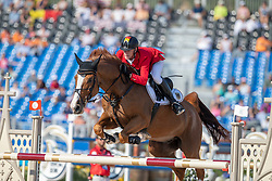 Ehning Marcus, GER, Pret A Tout<br /> World Equestrian Games - Tryon 2018<br /> © Hippo Foto - Dirk Caremans<br /> 21/09/2018
