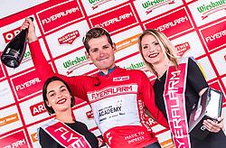 11.07.2019, Kitzbühel, AUT, Ö-Tour, Österreich Radrundfahrt, 5. Etappe, von Bruck an der Glocknerstraße nach Kitzbühel (161,9 km), Siegerehrung, im Bild Gesamtführender Ben Hermans (Israel Cycling Academy, BEL) // Gesamtführender Ben Hermans (Israel Cycling Academy, BEL) during the winner ceremony of the 5th stage from Bruck an der Glocknerstraße to Kitzbühel (161,9 km) of the 2019 Tour of Austria. Kitzbühel, Austria on 2019/07/11. EXPA Pictures © 2019, PhotoCredit: EXPA/ JFK