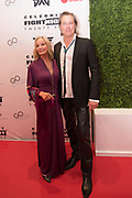 Bo Derek and John Corbett attend the Celebrity Fight Night event on March 23, 2019 in Scottsdale, AZ.