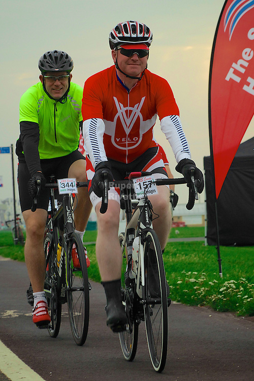 Brighton to Brighton Cyclosportive 2013 Cyclist take part in this excellent event with three great routes. The longest route being 103 miles long.