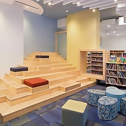 Children's library at Catamount Christian Academy, Georgia.