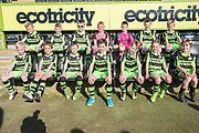 FGR U9's during the EFL Sky Bet League 2 match between Forest Green Rovers and Grimsby Town FC at the New Lawn, Forest Green, United Kingdom on 5 May 2018. Picture by Shane Healey.