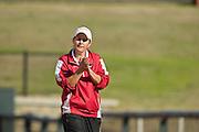 University of Arkansas Razorback Women's Softball team action photography in Fayetteville, Arkansas during the 2010-2011 season.