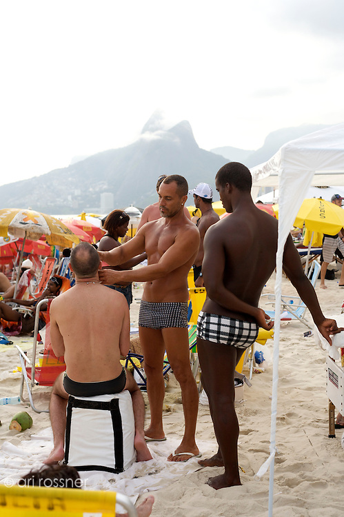 Gay beach<br /> Posto 8 Ipanema