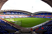 General view the of University of Bolton Stadium. EFL Sky Bet League 1 match between Bolton Wanderers and Rochdale at the University of  Bolton Stadium, Bolton, England on 19 October 2019.
