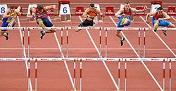 08-03-2015 CZE: European Athletics Indoor Championships, Prague<br /> Petter Olson SWE, Adam Helgelet CZE, Eelco Sintnicolaas NED, Artem Luykanenko RUS, Ilya Shkurenov RUS