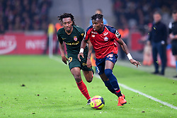 March 15, 2019 - Lille, France - 29 GELSON MARTINS (MONA) - 03 YOUSSOUF KONE  (Credit Image: © Panoramic via ZUMA Press)