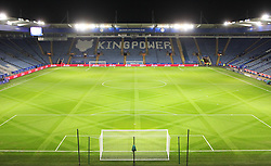 General view of the King Power Stadium before kick-off - Mandatory byline: Jack Phillips/JMP - 02/02/2016 - FOOTBALL - King Power Stadium - Leicester, England - Leicester City v Liverpool - Barclays Premier League