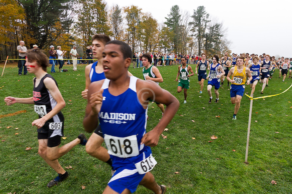 2012 High School Western Maine Regional Cross Country Championships, Class C Boys