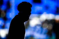 Helder Costa of Wolverhampton Wanderers silhouetted - Mandatory by-line: Robbie Stephenson/JMP - 02/02/2019 - FOOTBALL - Goodison Park - Liverpool, England - Everton v Wolverhampton Wanderers - Premier League