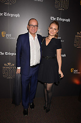 Touker Suleyman and Francesca Dutton at the Debrett's 500 Party recognising Britain's 500 most influential people, held at BAFTA, 195 Piccadilly, London England. 23 January 2017.