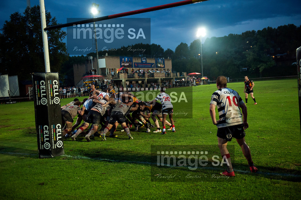 JOHANNESBURG, SOUTH AFRICA - Saturday 21 March 2015,   during the fifth round match of the Cell C Community Cup between Vaseline Wanderers and Aveng Moolmans Sishen at Kent Park, Wanderers Cricket Club, Johannesburg<br /> Photo by Brendan Croft/ ImageSA/SARU
