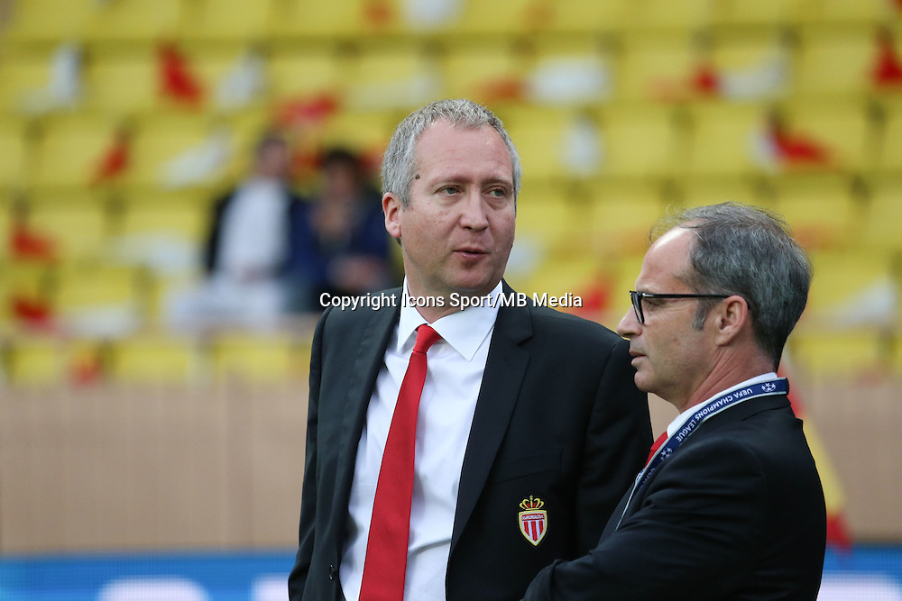 Luis CAMPOS  / Vadim Vasilyev - 22.04.2015 - Monaco / Juventus Turin - 1/4Finale retour Champions League<br />Photo : Serge Haouzi / Icon Sport