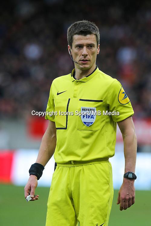 Benoit BASTIEN  - 08.03.2015 - Guingamp / Lille - 28eme journee de Ligue 1 <br /> Photo : Vincent Michel / Icon Sport