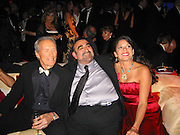 Clint Eastwood with his wife Dina Ruiz Eastwood & Borat's sidekick Ken Davitan,.InStyle and Warner Bros. Post 2007 Golden Globe Party - Inside.Beverly Hilton Hotel.Beverly Hills, CA, USA.Monday January 15, 2007.Photo By Celebrityvibe.com.To license this image please call (212) 410 5354; or.Email: celebrityvibe@gmail.com ;.Website: www.celebrityvibe.com