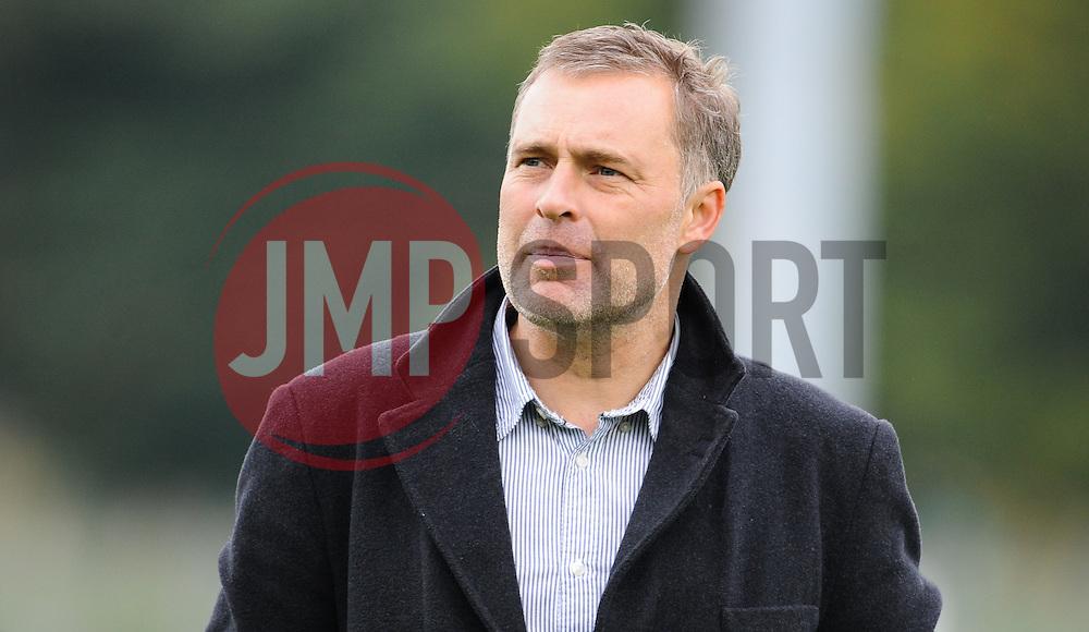 Dagenham manager Wayne Burnett looks on after the game.  - Mandatory byline: Alex Davidson/JMP - 07966 386802 - 10/10/2015 - FOOTBALL - Huish Park - Yeovil, England - Yeovil v Dagenham - Sky Bet League Two