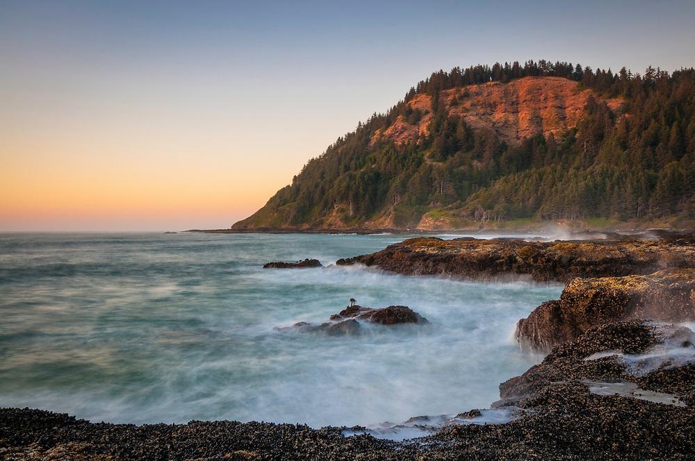 Cape Perpetua, central Oregon Coast.