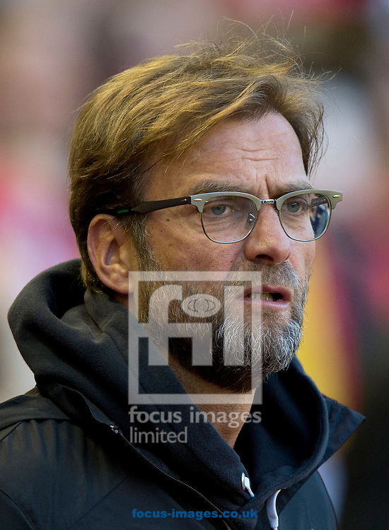 Liverpool manager Jurgen Klopp before the Barclays Premier League match at Anfield, Liverpool<br /> Picture by Russell Hart/Focus Images Ltd 07791 688 420<br /> 20/04/2016