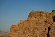 The Northern Palace at Masada national park, Israel